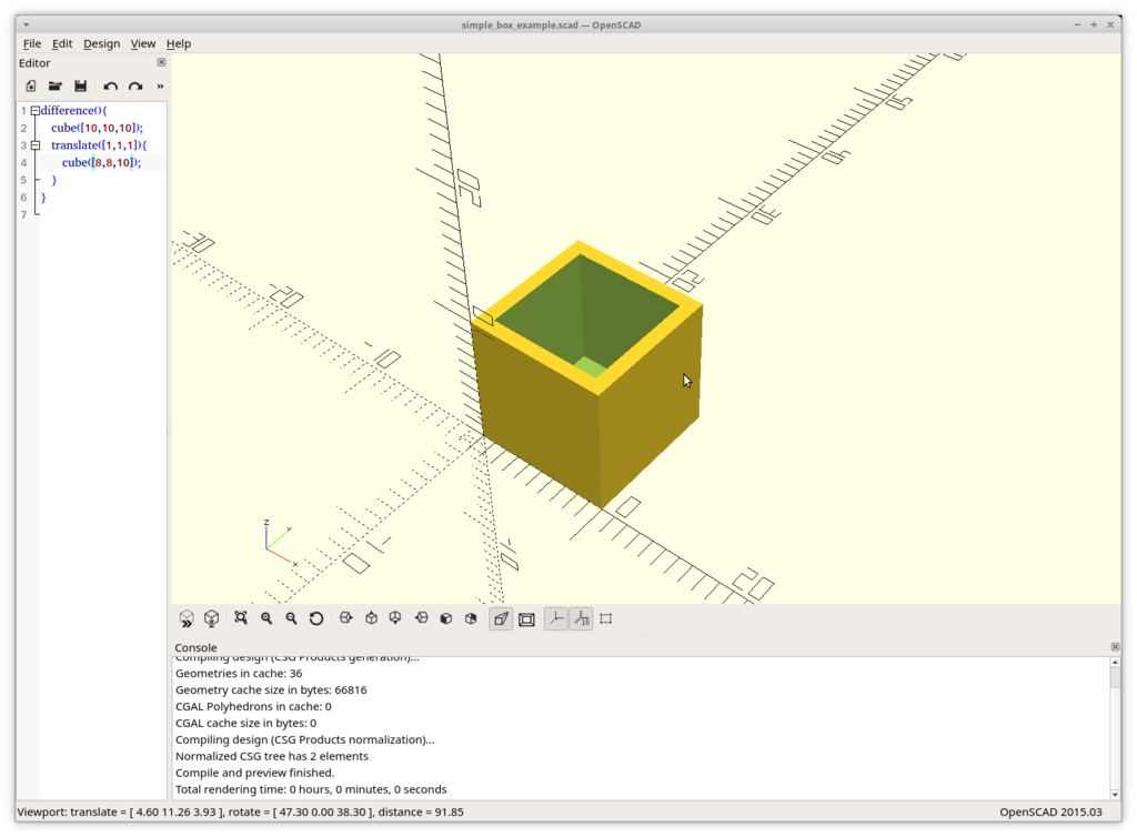 3D printing from a software developer's perspective